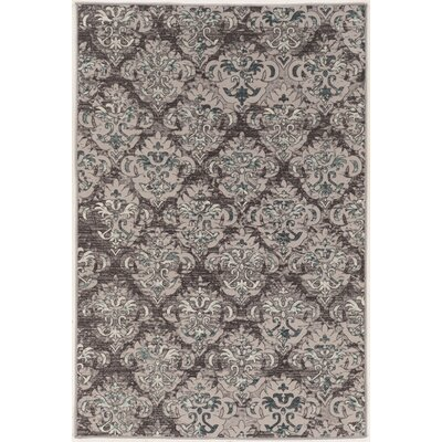 Christopherso Beige/Gray Area Rug Rug Size: 5' x 7'6