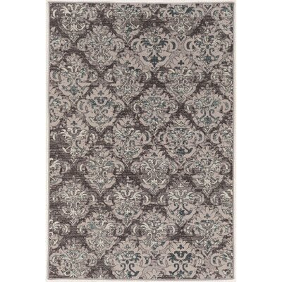 Christopherso Beige/Gray Area Rug Rug Size: 9 x 12
