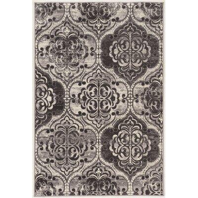 Claflin Ivory/Gray Area Rug Rug Size: 8 x 10