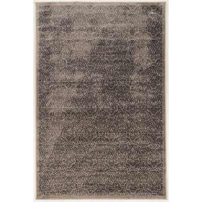 Claiborne Gray Area Rug Rug Size: 5' x 7'6