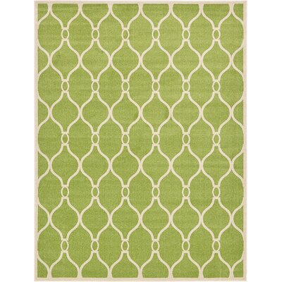 Molly Green Area Rug Rug Size: Rectangle 9 x 12