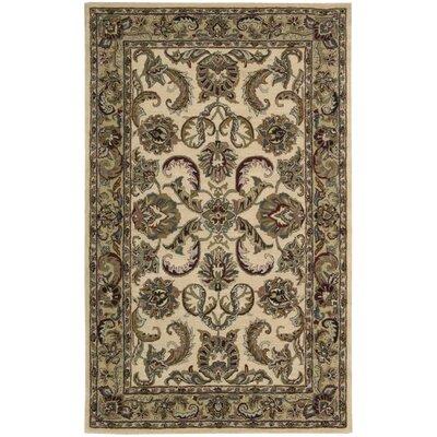 Cortese Ivory/Gold Area Rug Rug Size: 8 x 106