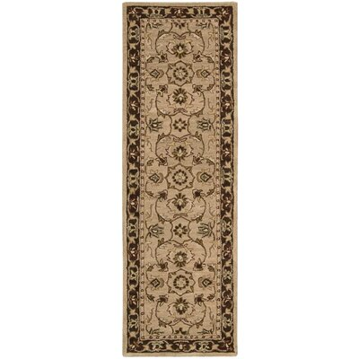 Cortese Taupe Area Rug Rug Size: Runner 23 x 76