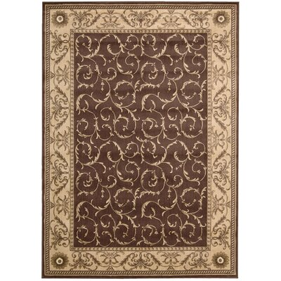 Merton Brown Area Rug Rug Size: Rectangle 36 x 56