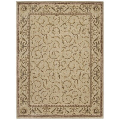 Merton Ivory Area Rug Rug Size: Rectangle 36 x 56
