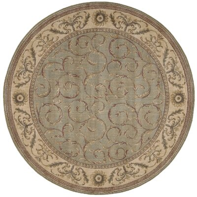 Merton Meadow Area Rug Rug Size: Round 56