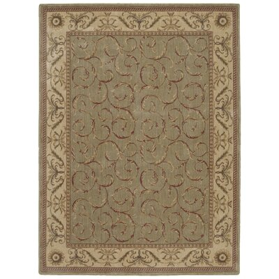 Merton Meadow Area Rug Rug Size: 5'6