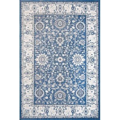 Myron Blue Indoor/Outdoor Area Rug Rug Size: 78 x 103
