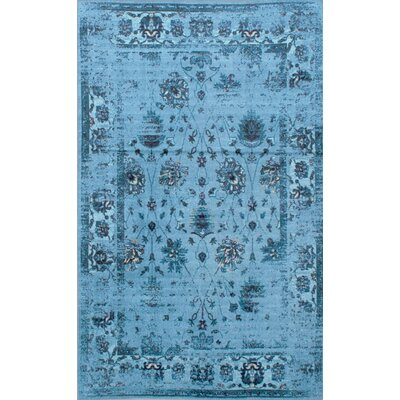 Myrtle Turquoise Area Rug Rug Size: Rectangle 5 x 8