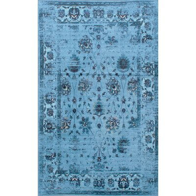 Myrtle Turquoise Area Rug Rug Size: Rectangle 44 x 6