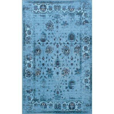 Myrtle Turquoise Area Rug Rug Size: 9 x 12