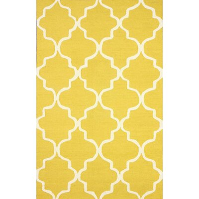 Charlton Home Parkman Yellow Holly Area Rug