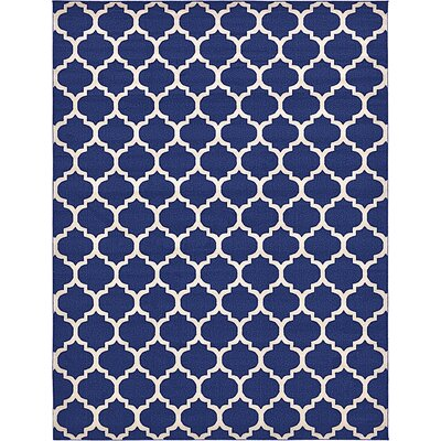 Coughlan Navy Area Rug Rug Size: 10 x 13