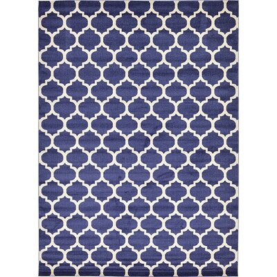 Coughlan Navy Area Rug Rug Size: 10' x 14'