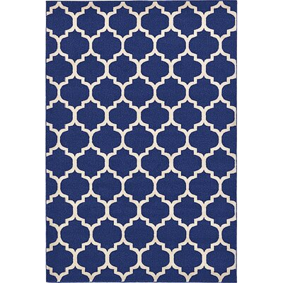 Coughlan Navy Area Rug Rug Size: 8 x 10