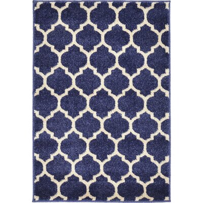 Coughlan Navy Area Rug Rug Size: 3 x 6