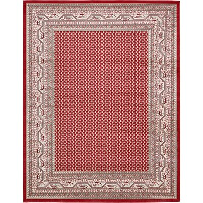 Michael Red Area Rug Rug Size: 10 x 13