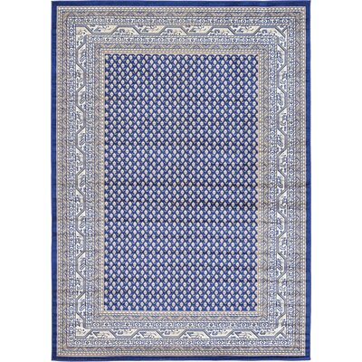Michael Blue Area Rug Rug Size: 7' x 10'