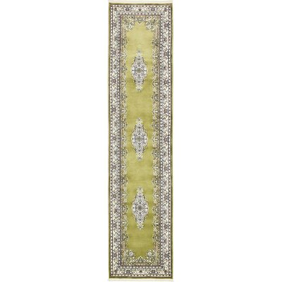 Courtright Green Area Rug Rug Size: Runner 3 x 13