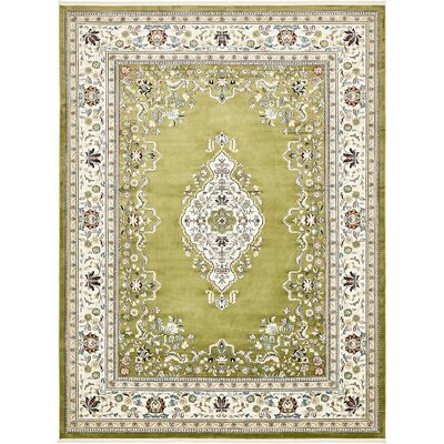Courtright Green Area Rug Rug Size: 8 x 10
