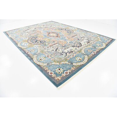 Courtright Blue/Tan Area Rug