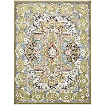 Courtright Green/Blue Area Rug