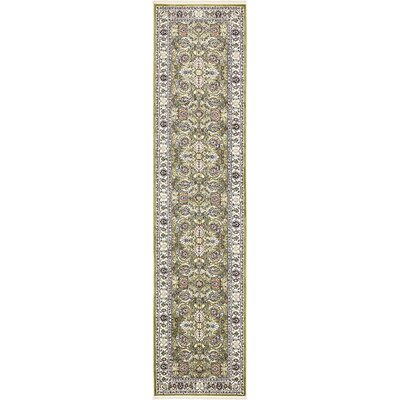 Courtright Green/Tan Area Rug