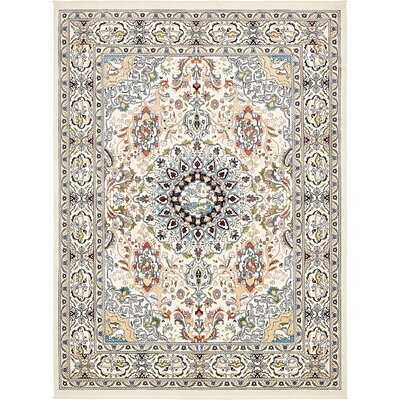 Courtright Cream/Tan Area Rug Rug Size: 13 x 198