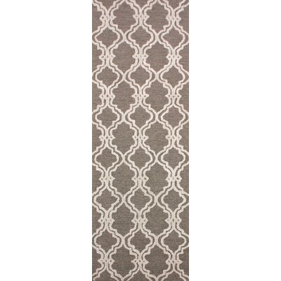 Coghlan Taupe/Ivory Area Rug Rug Size: Runner 26 x 8
