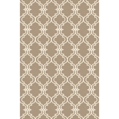 Coghlan Ivory/Beige Area Rug Rug Size: Rectangle 8 x 10