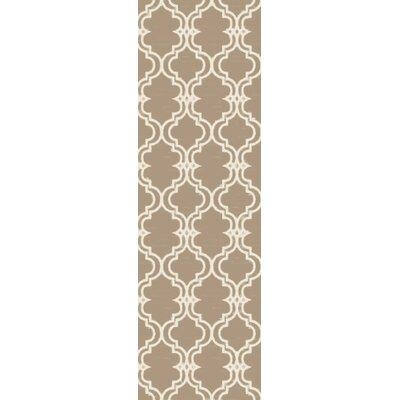Coghlan Ivory/Beige Area Rug Rug Size: Runner 26 x 10