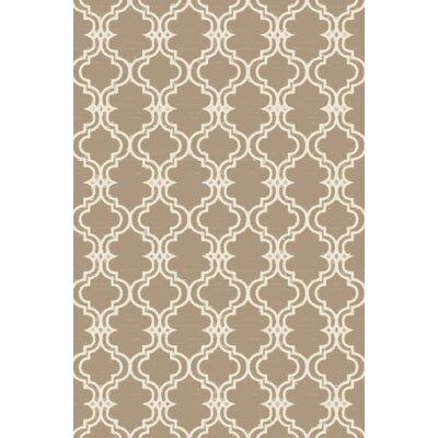 Coghlan Ivory/Beige Area Rug Rug Size: 9 x 13