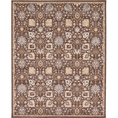 Peter Tradition Brown Area Rug Rug Size: 8 x 10