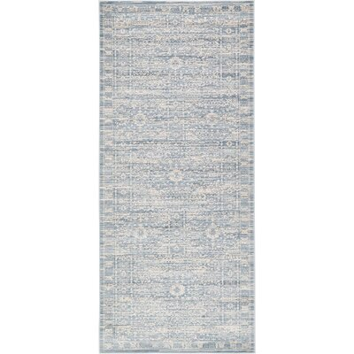 Phillip Light Blue Area Rug