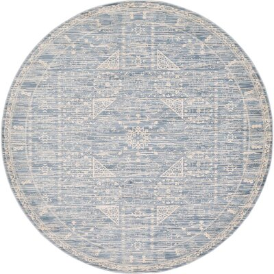 Phillip Light Blue Area Rug Rug Size: 7 x 10