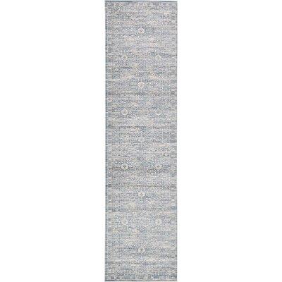 Phillip Light Blue Area Rug Rug Size: 3 x 10
