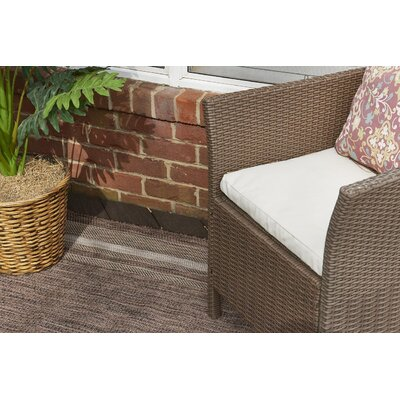 Erhardt Brown Outdoor Area Rug Rug Size: 9 x 12
