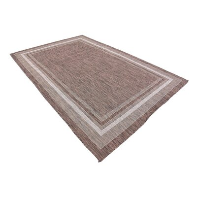 Erhardt Brown Outdoor Area Rug Rug Size: 6 x 9