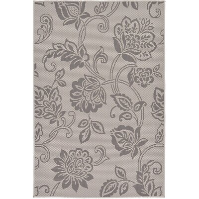 Florence Gray Outdoor Area Rug Rug Size: 33 x 5