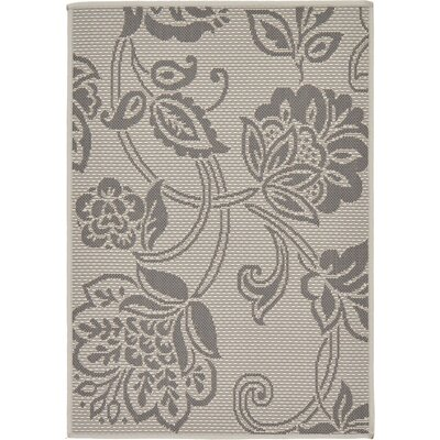 Florence Gray Outdoor Area Rug Rug Size: 22 x 3