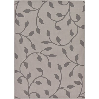 Forrest Gray Outdoor Area Rug Rug Size: 7 x 10