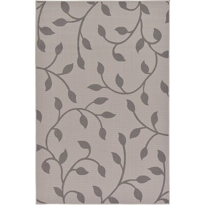 Forrest Gray Outdoor Area Rug Rug Size: 53 x 8