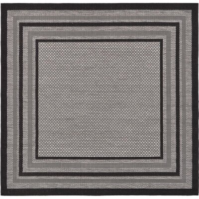 Gerhard Gray Outdoor Area Rug Rug Size: Square 6