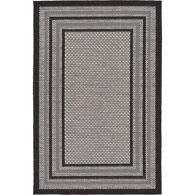 Gerhard Gray Outdoor Area Rug Rug Size: 33 x 5