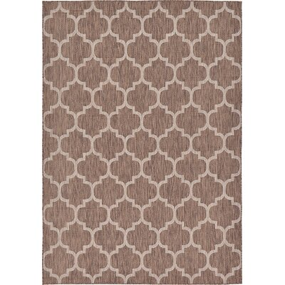 Hampstead Brown Outdoor Area Rug Rug Size: 7 x 10
