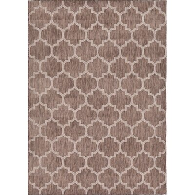 Hampstead Brown Outdoor Area Rug Rug Size: 8 x 114