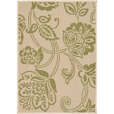 Tarlton Beige Outdoor Area Rug