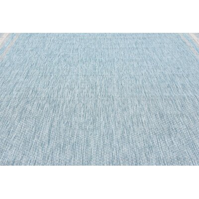 Thomas Aquamarine Outdoor Area Rug Rug Size: 9 x 12
