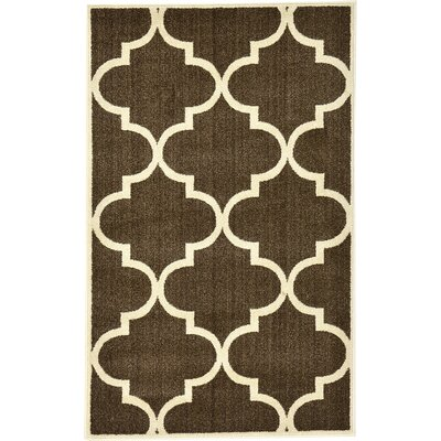Moore Brown Area Rug