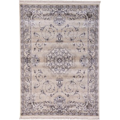 Layton Taupe Area Rug Rug Size: 7' x 10'